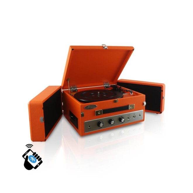 Vintage Bluetooth Turntable Record Player