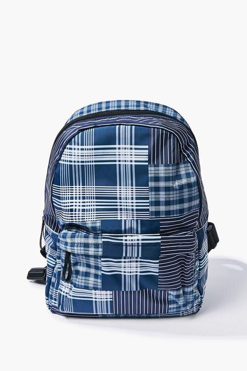 Large Plaid Backpack   Forever 21