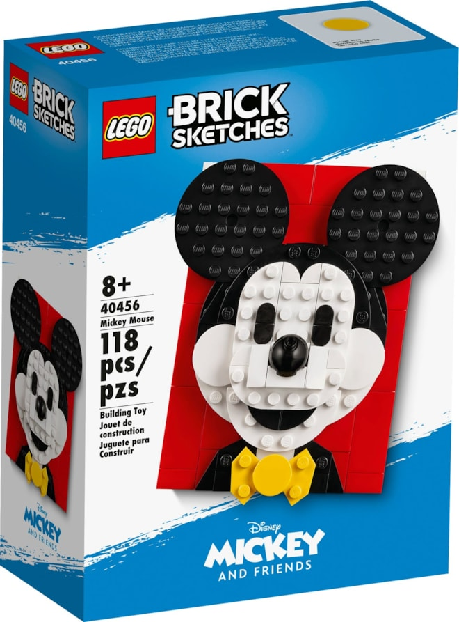 LEGO Brick Sketches Mickey Mouse 40456
