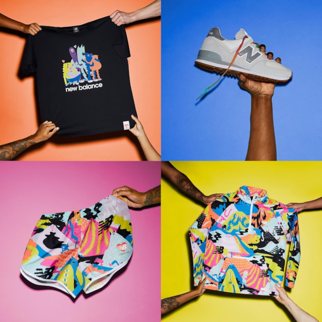 New Balance 2021 Pride: Everybody's Welcome Collection