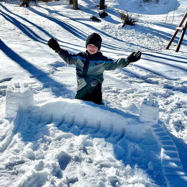 Sand & Snow Castle Kit