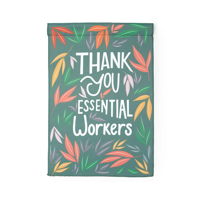 Thank You Essential Workers Flag + Donation