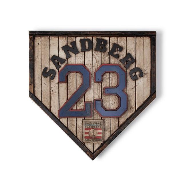Choice of Legend Baseball Plate