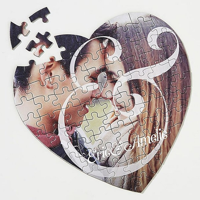 Customized Heart Puzzle