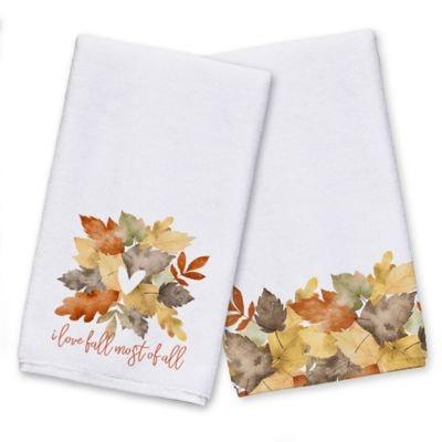 Love Fall Most of all Tea Towel Set