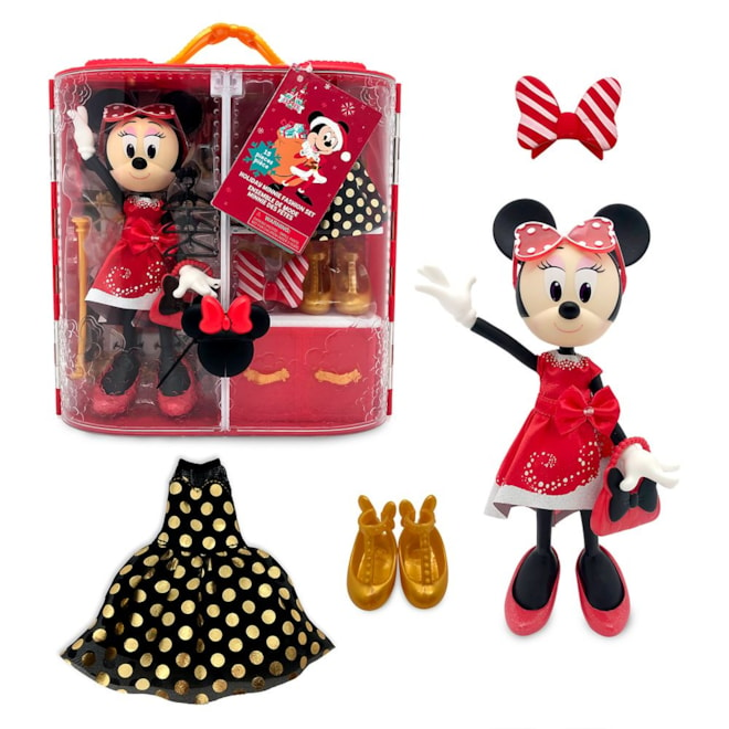 Minnie Mouse Doll Holiday Fashion Set
