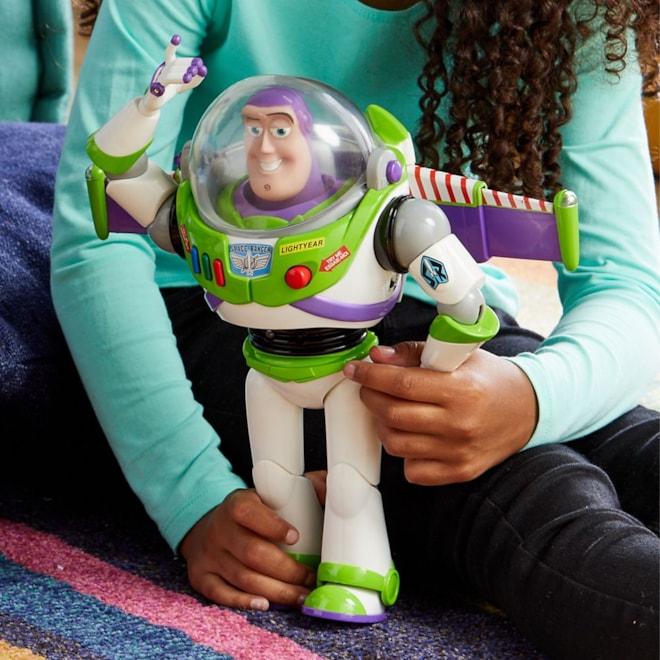 Buzz Lightyear Interactive Talking Action Figure