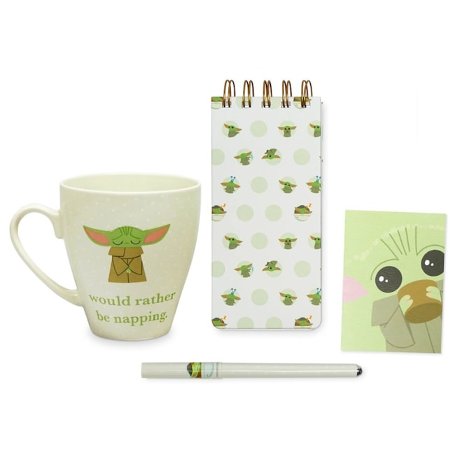 The Child Mug & Stationery Set Star Wars