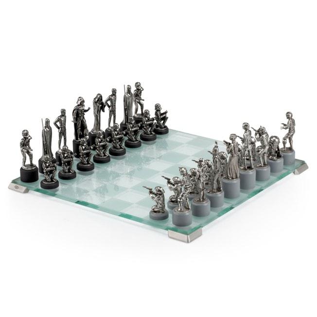 Star Wars Pewter Chess Set