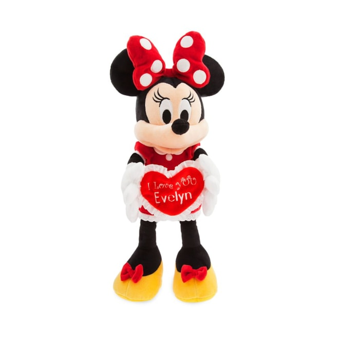 Minnie Mouse Message Plush