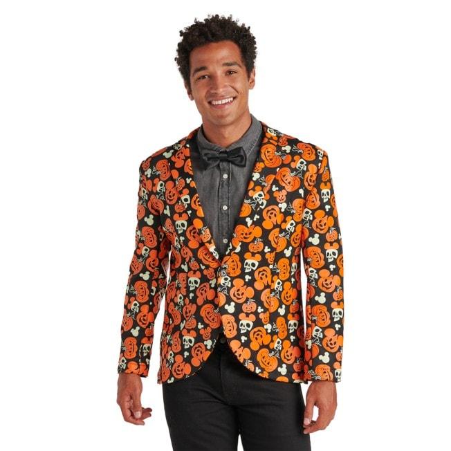 Mickey Pumpkin Glow-in-the-Dark Suit Jacket