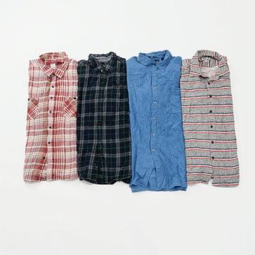 Preloved Flannel Shirts   Set of 4