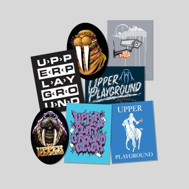 Upper Playground Sticker Pack