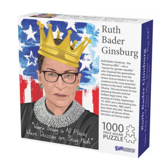 Ruth Bader Ginsburg 1000 Piece Puzzle