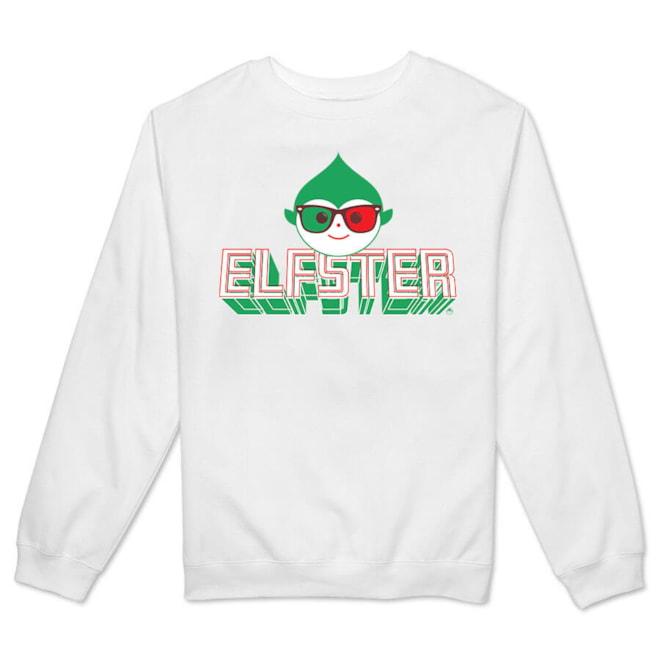 Elfster 3D Women's Crewneck Fleece