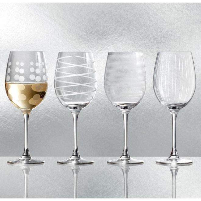 Cheers Set of 4 White Wine Glasses