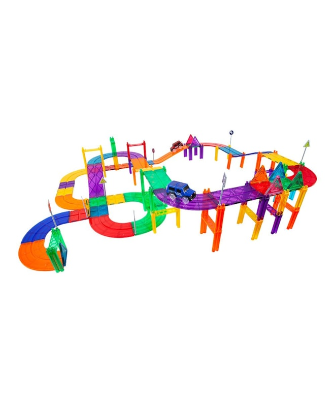 Magnetic Race Track 81-Piece
