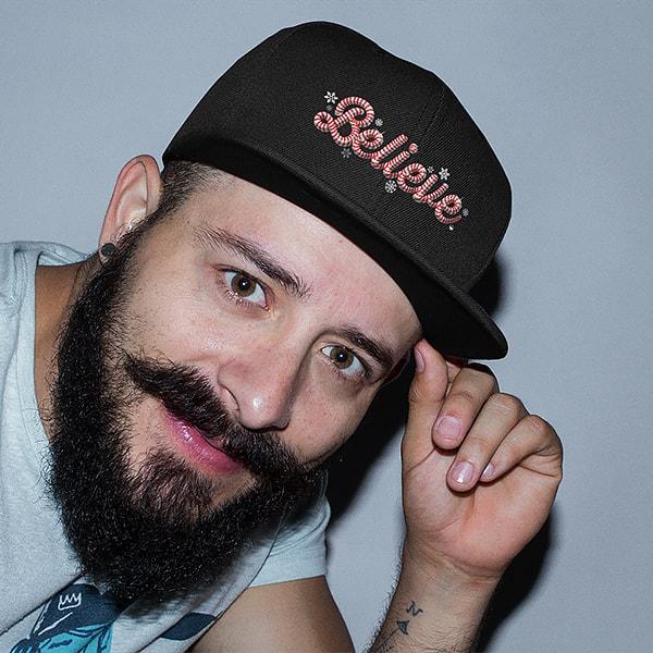 Elfster Believe Snapback Hat