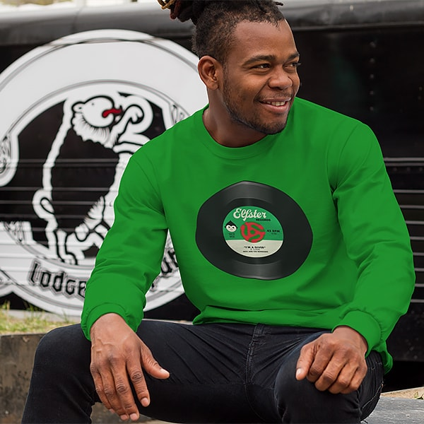 Elfster Men's Holiday Spirit Long Sleeve Tees - Various Styles Available