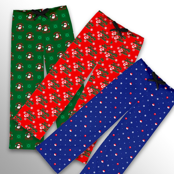Elfster Men's Pajama Pants - Various Styles Available