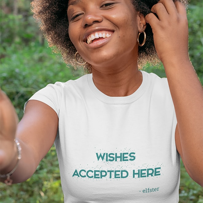 Wishes Accepted Here Unisex Tee