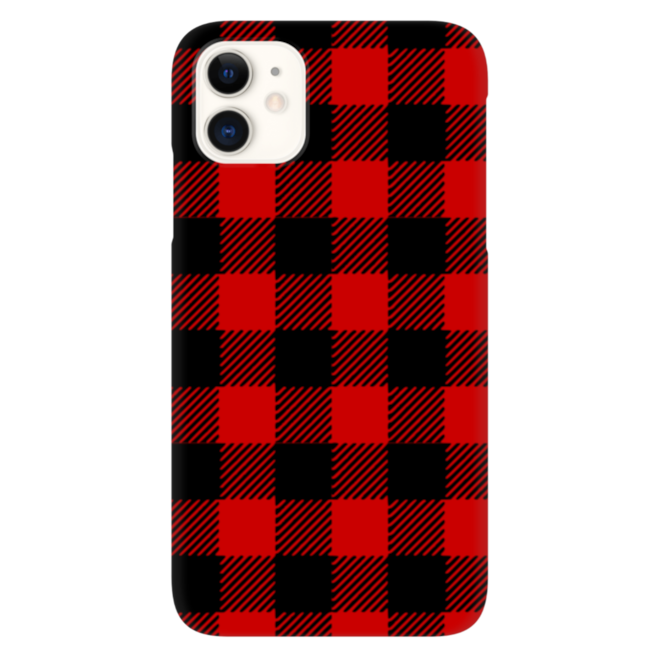 Red Plaid Phone Case