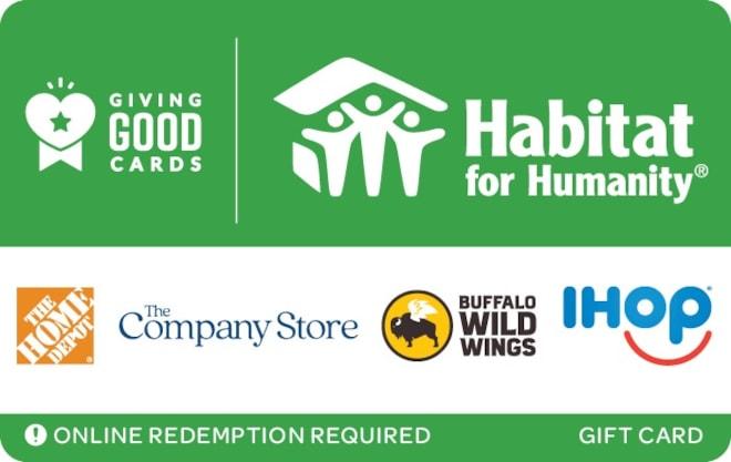 Habitat For Humanity eGift Card
