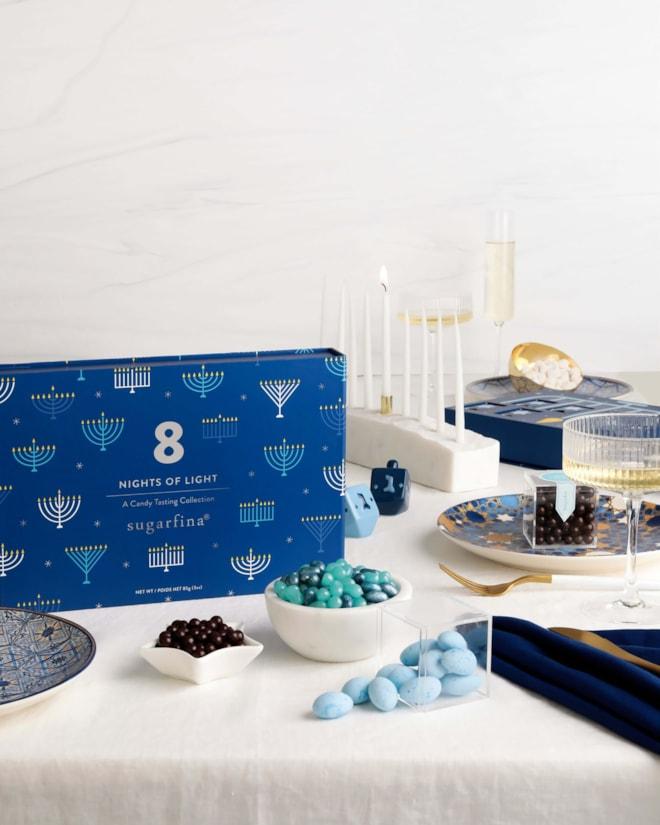 sugarfina 8 Nights of Light Hanukkah Candy Tasting Collection