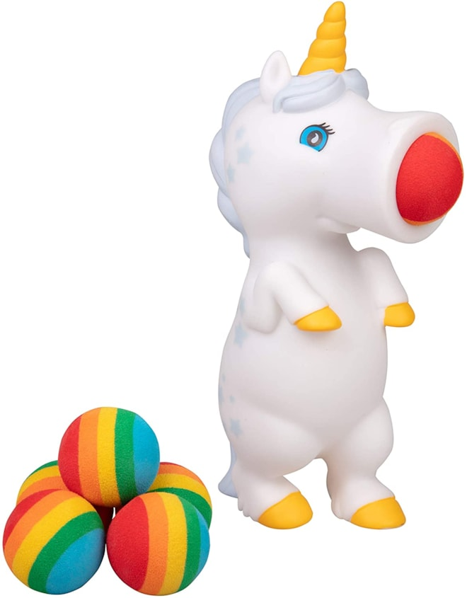 Unicorn Popper Toy w/ Foam Balls