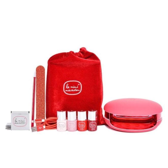 Le Mini Macaron Le Maxi ''Rouge & Moi'' Limited Edition Deluxe Gel Manicure Set | Ulta Beauty