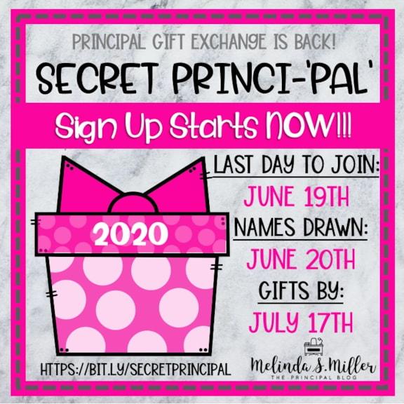 2020 Secret Princi-'Pal' Gift Exchange