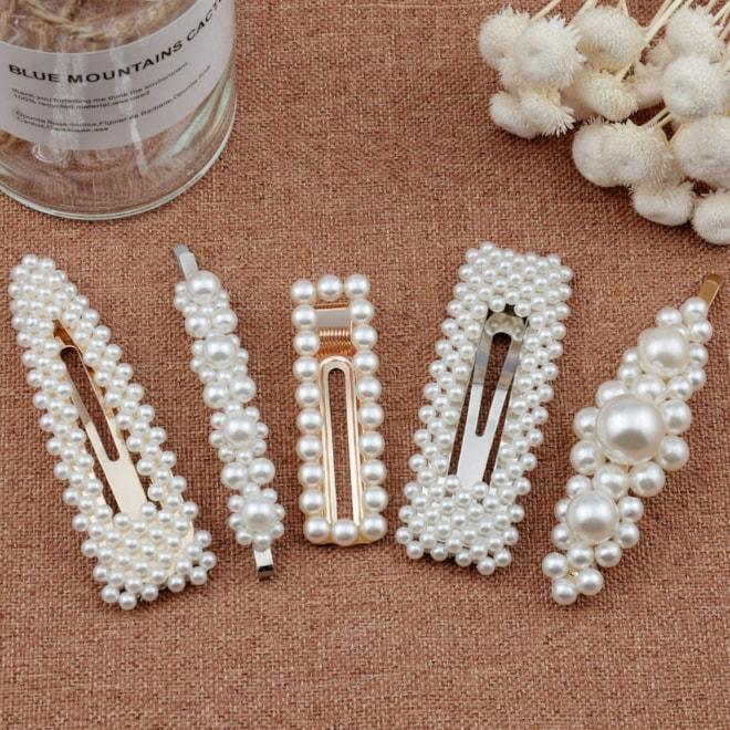 Warmfits Pearl Hair Clips