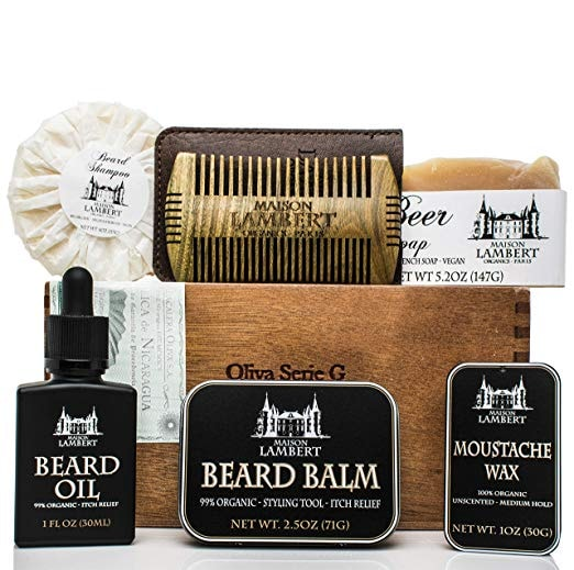 Ultimate Beard Kit Contains
