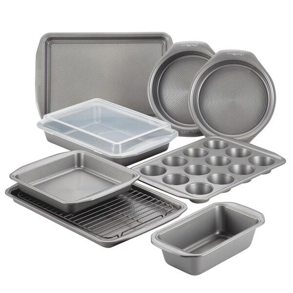 10-Piece Nonstick Bakeware Set