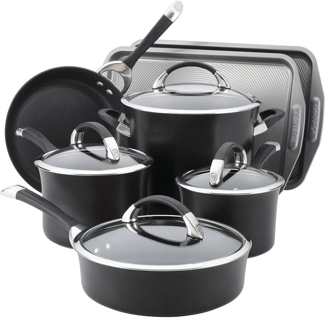 11-Piece Nonstick Cookware Set