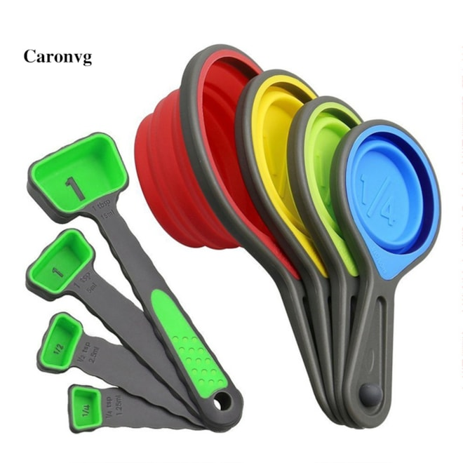 Collapsible Measuring Cups Set