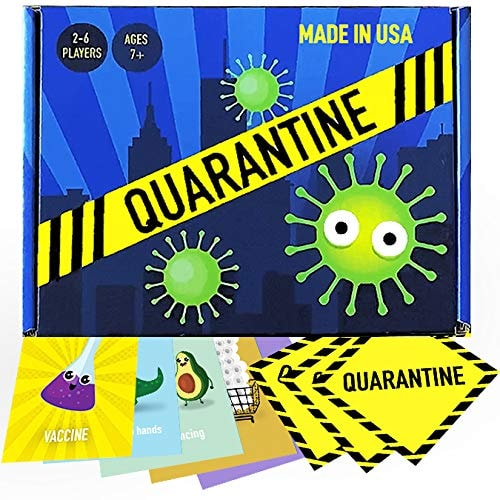 Quarantine - A Dodgeball Card Game