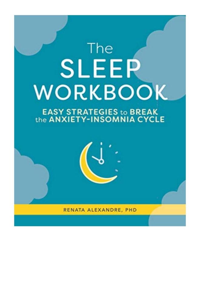 The Sleep Workbook