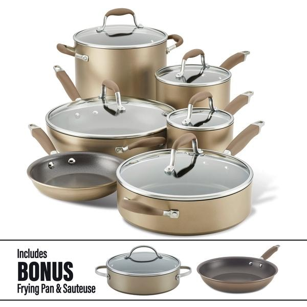11-Piece Cookware Set with Bonus