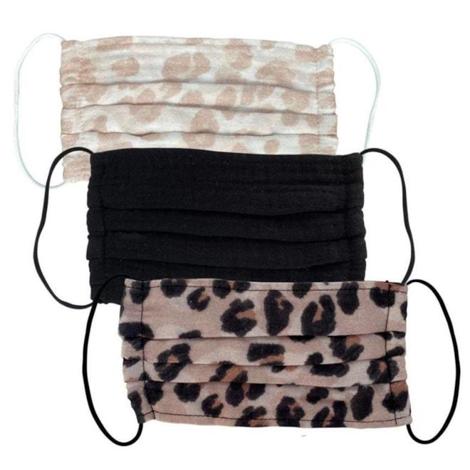Kitsch Leopard Face Mask Set