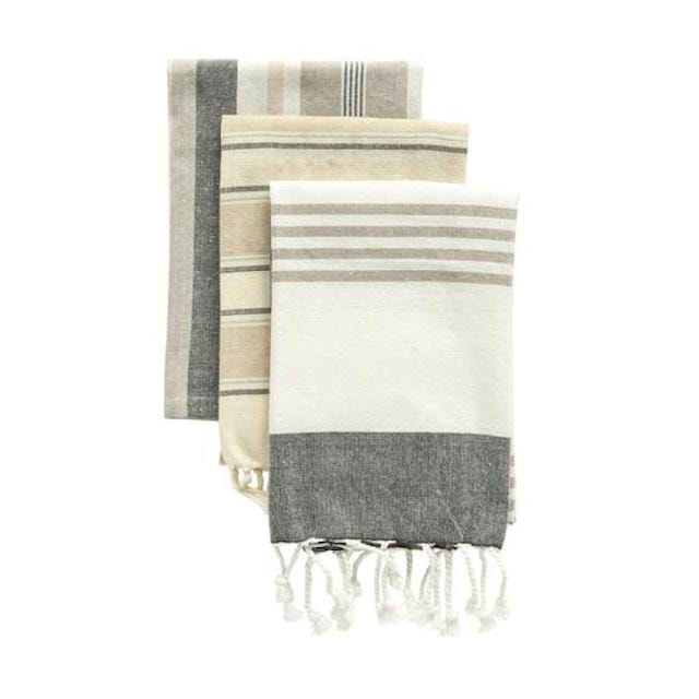 Cotton Tea Towels with Tassels