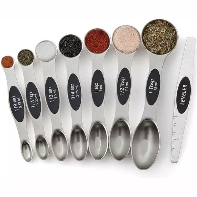 Magnetic Measuring Spoons Set