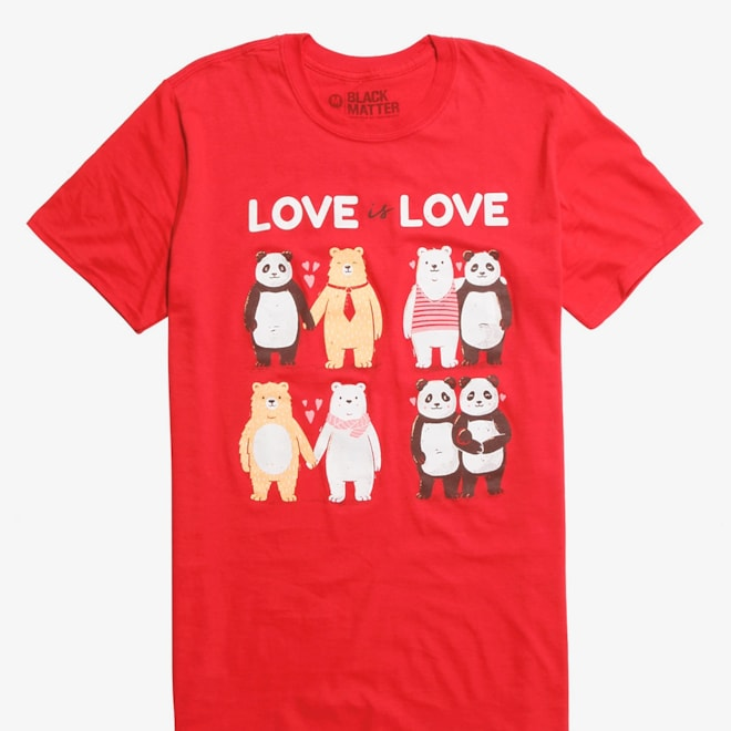 Love Is Love T-Shirt By Tobe Fonseca