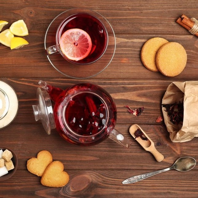 Luzianne Iced Red Hibiscus Tea Bags