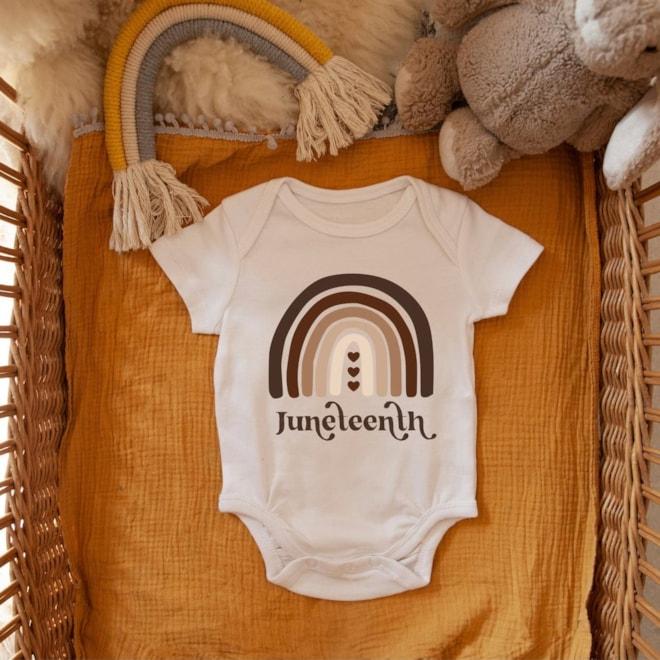 Juneteenth Baby Onesie
