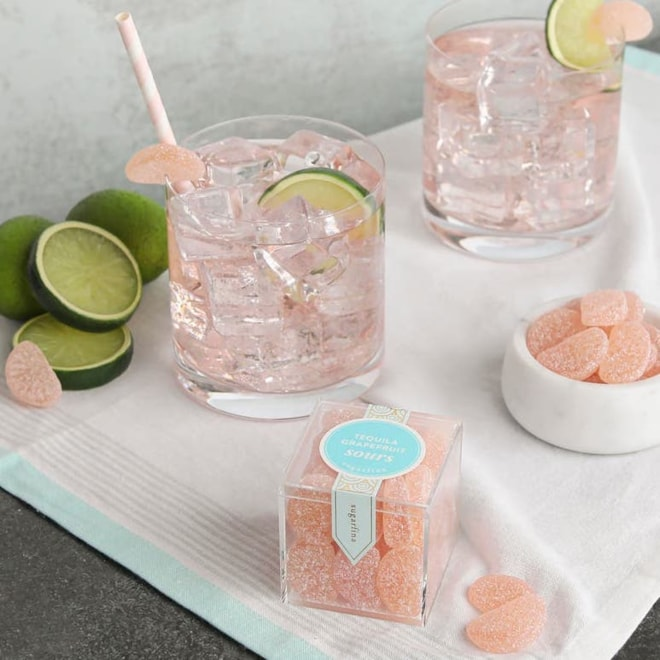 Tequila Grapefruit Sours Set of 4 Candy Cubes | Nordstrom