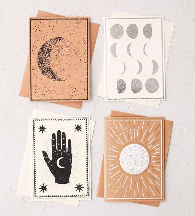 Cosmic Blank Card Set