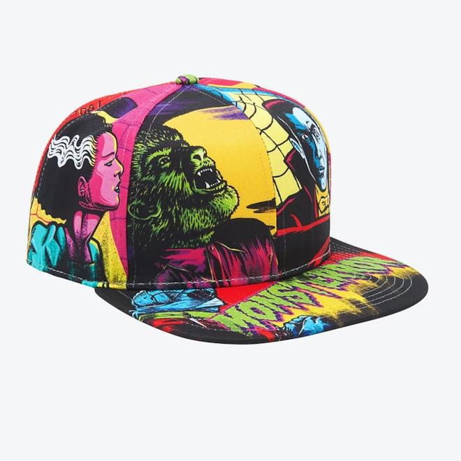 Universal Monsters Snapback Hat