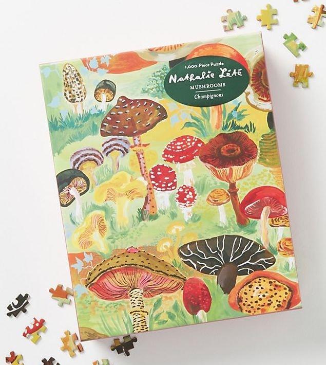 Mushroom Puzzle 1000 Piece