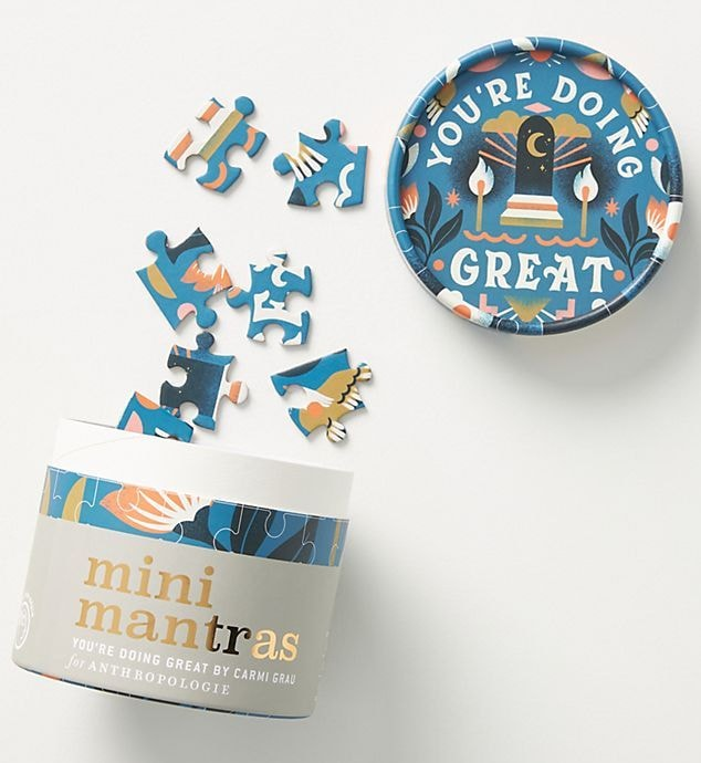 You're Doing Great Mini Mantras Puzzle